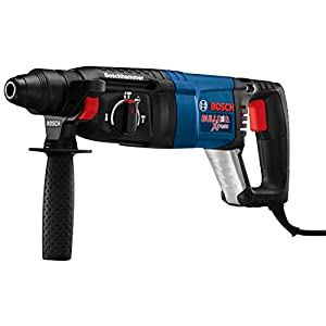 Bosch 11255VSR Bulldog Xtreme - 8 Amp 1 in. Corded Variable Speed Sds-Plus Concrete/Masonry Rotary Hammer Drill with Carrying Case