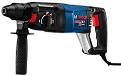 Get a fast, long-lasting rotary hammer with the Bosch bulldog extreme 1 in. Rotary hammer. It features a multi-function selector that quickly shifts between rotation-only, rotary hammer and Hammer-Only modes for optimal versatility. It also h...