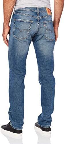 Levi's Men's 505 Regular Fit-Jeans, Afrobeat/Stretch, 40W x 30L