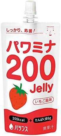 パワミナ200ゼリー いちご風味 120g(単品)