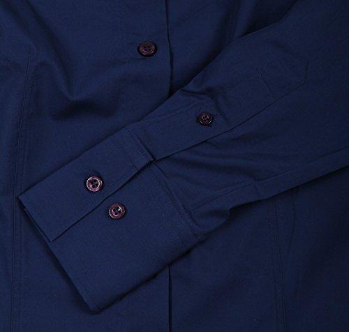 McGregor camicia da uomo a maniche lunghe blu scuro Regular Fit mc290–�?10