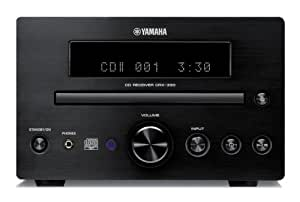 Yamaha CRX-330BL Micro Component Receiver CD Player Unit (Discontinued by Manufacturer)