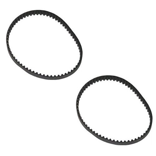 OCSParts GDB-2PK Geared Drive Belt, Designed to Fit Hoover Wind Tunnel Air Part 562535001 (Pack of 2) 3M-201-6.5x2
