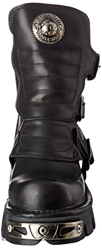 Motardes s1 Bottes M Noir Rock New Adulte 1482x Black Mixte TwqvXnZ