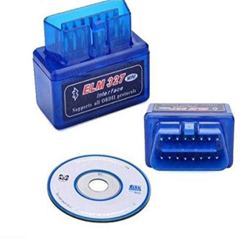 Diagnóstico del Coches Bluetooth Herramientas Coche - RFAIKA para PC y Android Escáner de Diagnóstico de Coche Wireless...