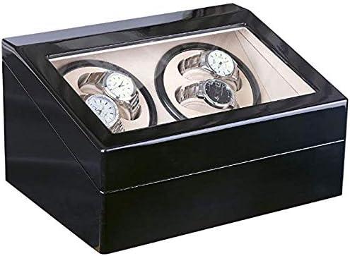 Audivik Enrollador para Relojes Automáticos 4,Caja Giratoria Reloj Automatico Caja de Reloj Cajas de Relojes Cajas Giratorias: Amazon.es: Deportes y aire libre