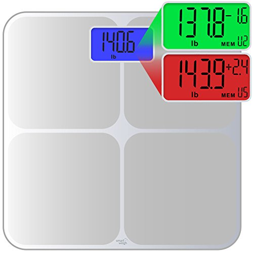 Smart Weigh Digital Body Weight Scale with Weig...