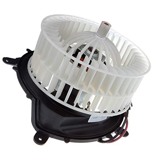 cciyu HVAC Heater Blower Motor with Wheel Fan Cage 615-58556 Air Conditioning AC Blower Motor fit for 1996-1999 Mercedes-Benz E300 /1996-2002 Mercedes-Benz E320 /1997-1999 Mercedes-Benz E420 ()