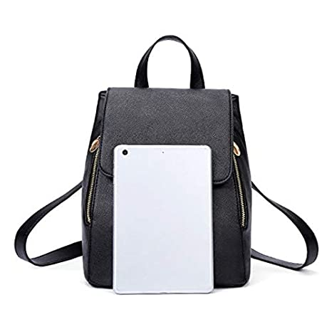 Amazon.com: Fashion School Top-Handle Backpack Girls Bags Women PU Leather Mochila Escolar for Teenagers Ruckback: Kitchen & Dining