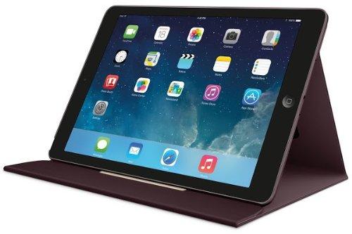 Logitech Turnaround Case for iPad Air - Midnight Red