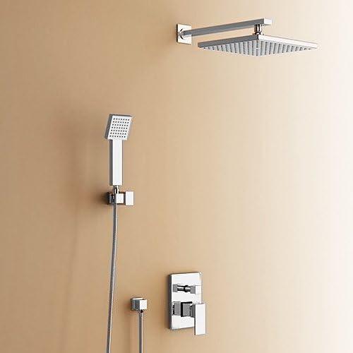 grafner® Diseño Lujo Acero Inoxidable ducha panel rasante columna ...
