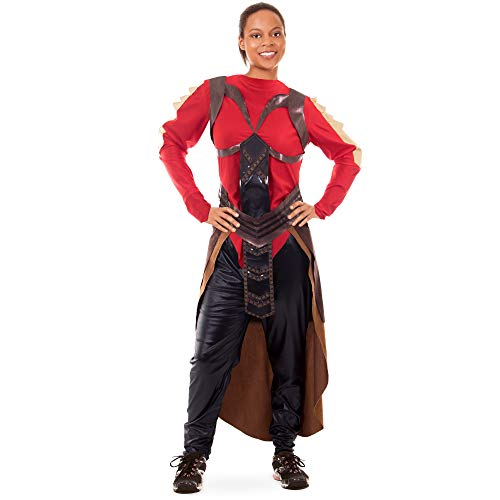 Elite Royal Guard Women's Halloween Costume | Comic Book Superhero Suit, M