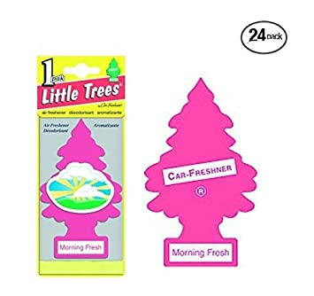 img buy Little Trees® Car Air Fresheners Morning Fresh Scent (24 Pack)