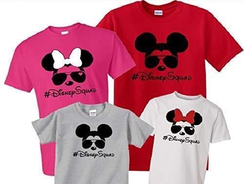 Family Vacation Mouse #DisneySquad Shirt Disney Vacation Family