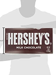 HERSHEY\'S Milk Chocolate Bar, 5 Pound