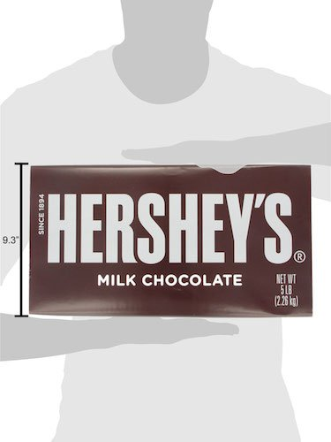 HERSHEY'S 5 Pound Chocolate Candy Bar Gift by HERSHEY'S (Image #10)