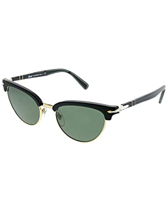 d3c8331807 Image Unavailable. Image not available for. Color  Persol PO3198S 95 31  Black PO3198S Cats Eyes Sunglasses ...