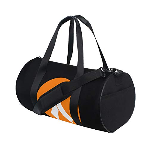 Duffel Bag For Men Women Lightweight Duffle Gym Sports Bag - HIV Test Logo
