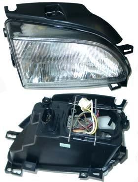 8//97-00 Scheinwerfer H4 elektrisch verstellbar Rechts SEAT AROSA ab Bj Beifahrerseite
