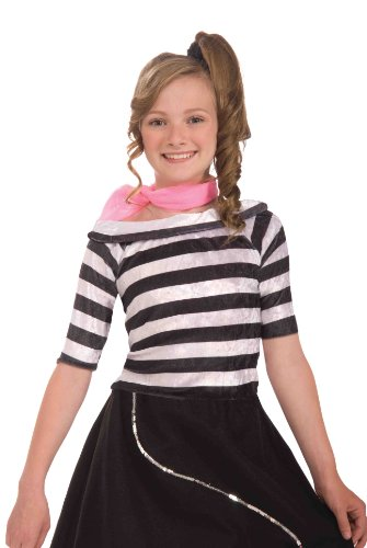 Forum Novelties Fabulous 50's Sock Hop Costume Top, Child Large for $<!--$19.99-->