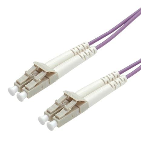VALUE Cavo di connessione in fibra ottica 50/125µ m OM4 LC/LC viola 1m 21998751