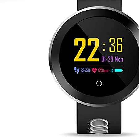 Amazon.com : SODIAL Q8 Pro Fitness Bluetooth Smart Watch Heart Rate Blood Pressure for Android Phone, Gray : Sports & Outdoors