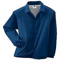 Augusta Sportswear CHAQUETA DE ENTRENADOR NYLON PARA HOMBRE /LINY 5XL NAVY