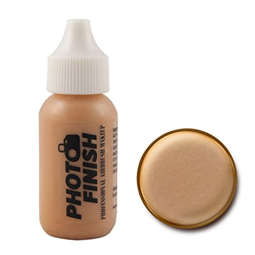 Photo Finish Airbrush Makeup – Foundation-1.0 Oz Cosmetic Face- Choose Color (Medium Beige Matte)
