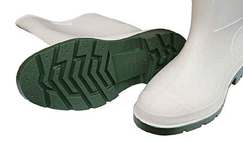 Dunlop Price Master Botas de goma unisex color blanco Weiß