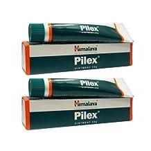 HIMALAYA HERBALS PILEX OINTMENT 2*30G Combats piles (hemorrhoids)