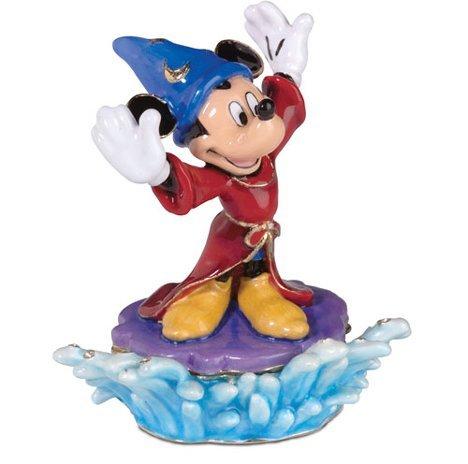 Department 56 Disney Mickey's Sorcerer Apprentice Jeweled Box