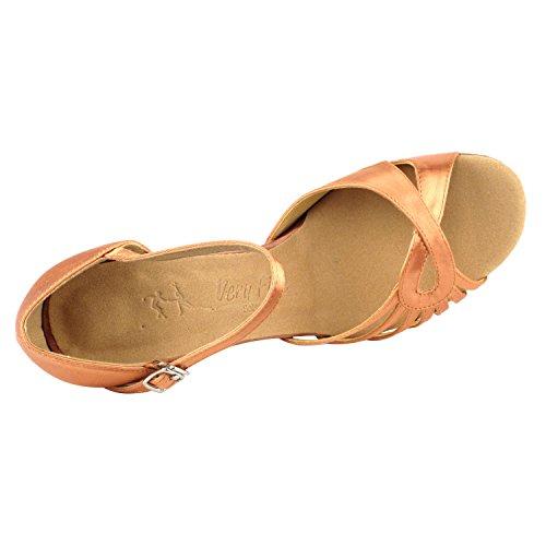"""Gold Taube Schuhe 50 Shades Of Tan Tanzschuhe, Komfort Abendkleid Hochzeit Pumps: Ballroom Schuhe für Latein, Tango, Salsa, Swing, Kunst von Party Party (2,5 """"& 3"""" Heels) 3870 - Tan Satin"""