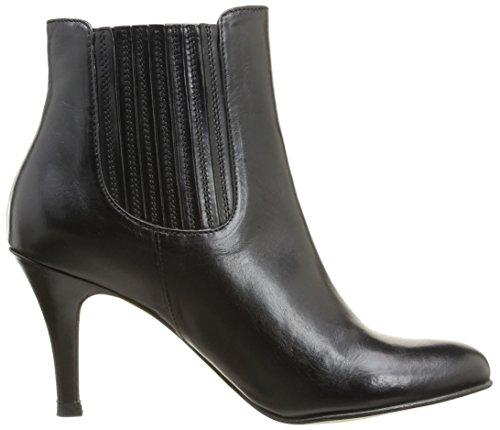 Jonak Donna Boots Con Tacco, Nero  (Noir (Cuir Noir)), 38