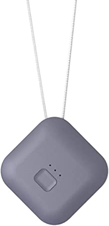 LTJX Purificador de Aire Portatil, Collar Limpiador de Aire ...