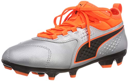 Argento Black Calcio Lth One puma Unisex Fg Jr 01 – Orange Silver Da Puma Scarpe shocking 3 puma Bambini TRqP0w1