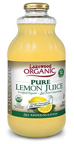 Lakewood Organic Pure Lemon, 32 Ounce (Pack of 6) by Lakewood (Image #1)