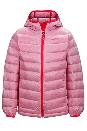 Marmot Nika Hoody Jacket Pink Lotus Girls S by Marmot