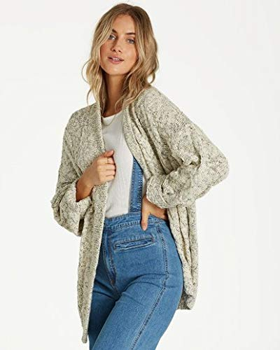Billabong Women's Sweetest Thing Sweater White Small by Billabong