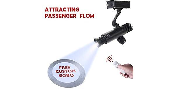DYJD 15W LED GOBO Projector Logotipo Personalizado Proyector con ...