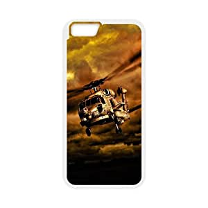 iPhone 6 4.7 Inch Cell Phone Case White War Helicopters In Cloudy Sky Kmqrt