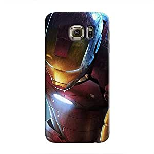 Cover It Up - Ironman Kneeling Galaxy S6 Edge Hard Case