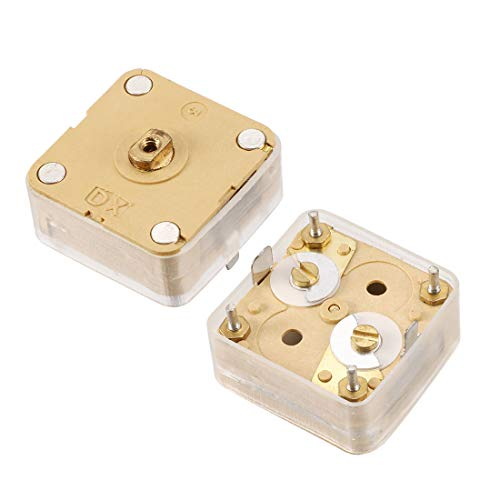 uxcell 3pcs 224pF 4 Linear PCB Trimmer Tuning Variable Capacitors for Radio