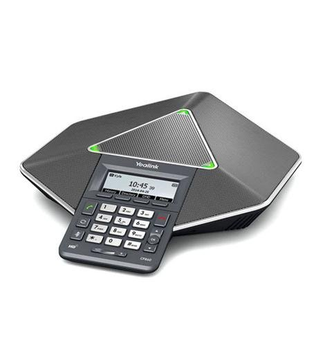 Yealink Diamond IP Conference Phone (YEA-CP860) Bundle with 15618 Power Supply for Yealink 5-volt 2-amp