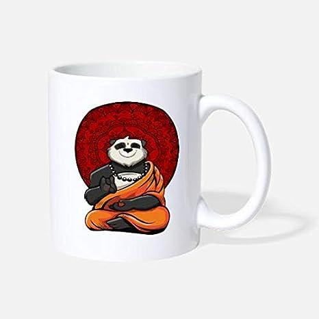 Amazon.com: Panda Bear Yoga Zen Buddha Meditation Standard ...