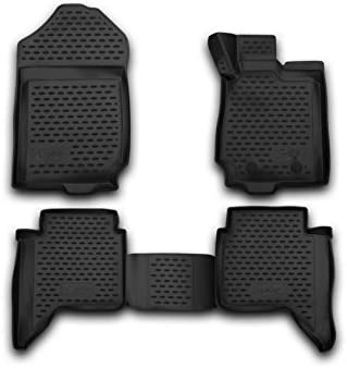 New Ford Ranger T6 Floor Mats Rubber Deep Tray Mud Mats XLT  LimitedWildtrak