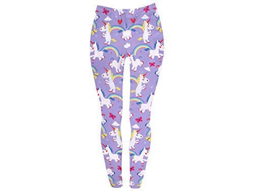 Unicorn leggings Girl Blue di Leg da jegging donna Girl da Licone Lady 123 Leg donna fantasia Alsino Sexy da Sky 124 Purple Pantaloni Leggings Leggings vgwtqt
