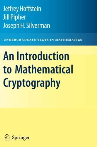 An Introduction to Mathematical Cryptography (Undergraduate Texts in Mathematics) by Brand: Springer