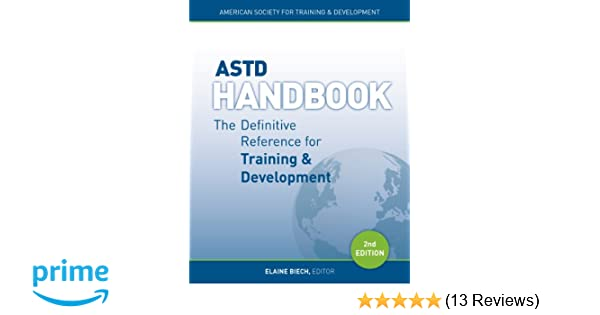 Astd handbook the definitive reference for training development astd handbook the definitive reference for training development 9781562869137 human resources books amazon fandeluxe Gallery