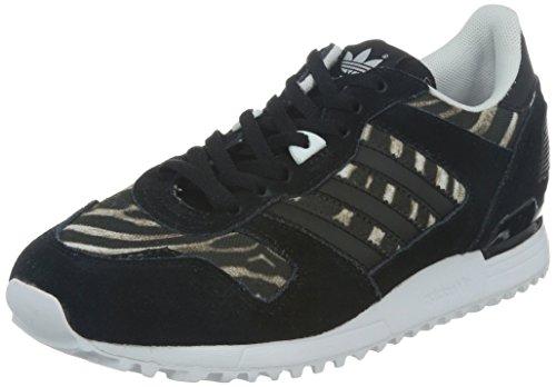 adidas Zx 700 W, WoMen Trainers Noir (Noiess/Noiess/Ftwbla)
