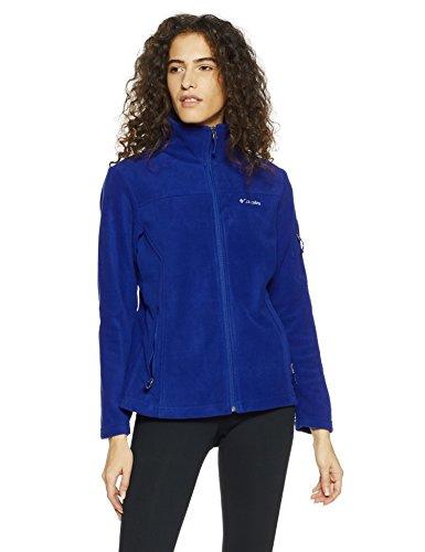 Columbia Women's Fast Trek II Full Zip Soft Fleece Jacket, Dynasty, S